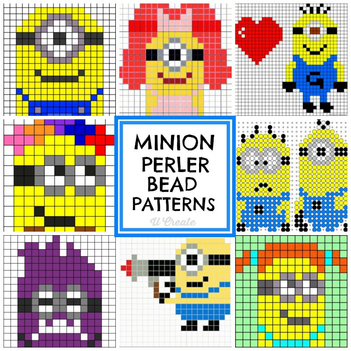 Minion Perler Bead Patterns at U Create