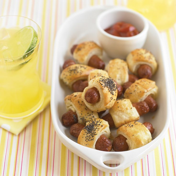 These retro cocktail-party snacks are a foolproof recipe for fun.