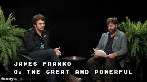Between Two Ferns With Zach Galifianakis: James Franco (VIDEO)