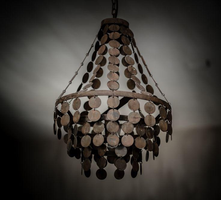 Hand Gemaakte Schelpen Lamp Van Hoffz.....