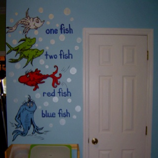 Dr. Seuss Playroom Mural by coloryourworldbyana.com!