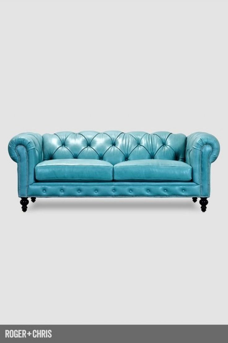 Best 25+ Blue Leather Couch Ideas On Pinterest