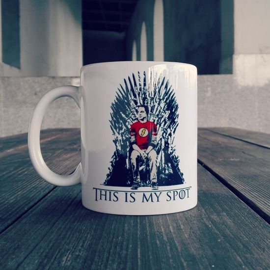 "#Sheldon is Coming! Super nerdowo-geekowski #kubek ""This is my Spot"" już dostępny na OtherTees! #tbbt #sheldoncooper #got #gameofthrones #winteriscoming #ironthrone #othertees #coffee #tea"