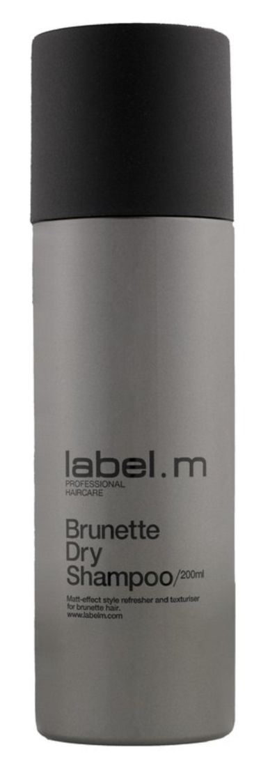 Hate white powder from dry shampoo? label.m dry shampoo for #brunette