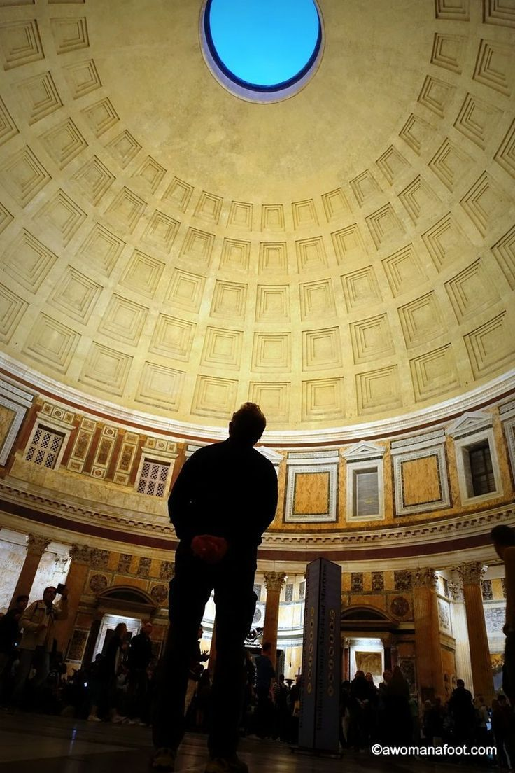 Pantheon: the Marvel of Ancient Roman Architecture - a must see on any Roman itinerary! #Rome   #Italy   Ancient Architecture   Cultural #Travel   Must-see in Rome   Western Europe Travel   Beautiful places   #ancientarchitecture