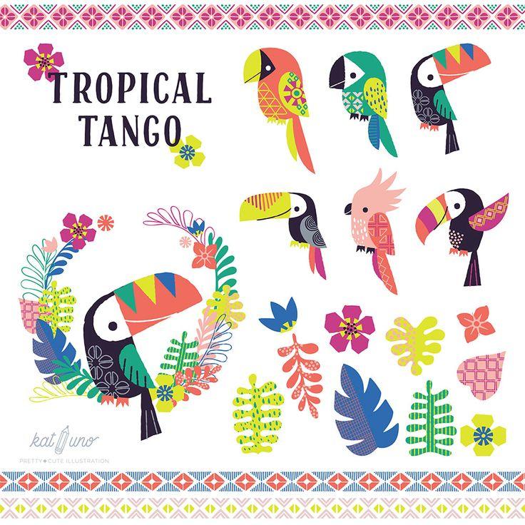 Tropical Tango Design Garden assignment work