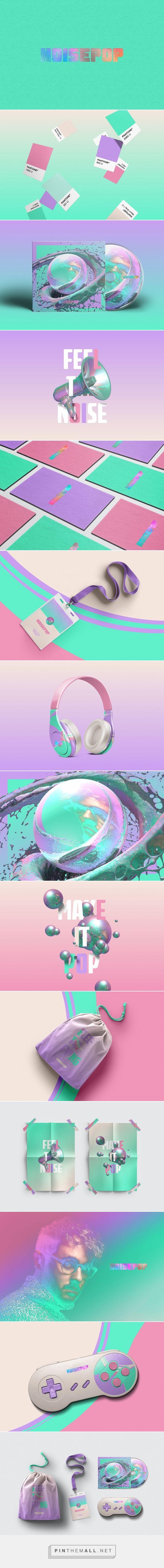 Noisepop on Behance | Fivestar Branding – Design and Branding Agency & Inspiration Gallery