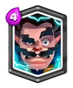 Clash Royale Mago Eléctrico