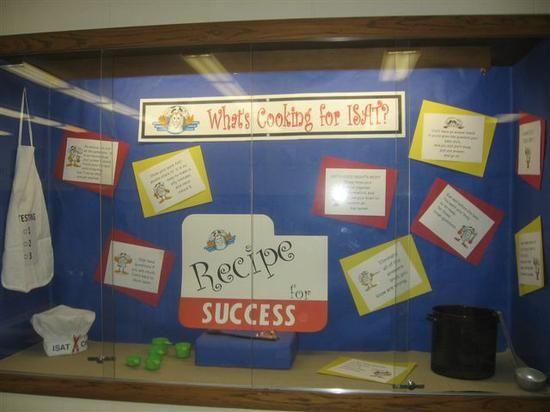 Middle School and High School Informational Bulletin Board Idea