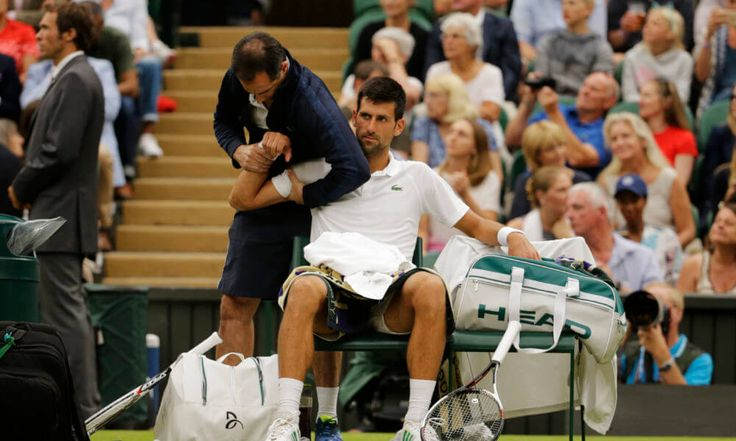 Novak Djokovic announces he will miss rest of season to rehab elbow = What was once speculated is now reality. A 12-time Grand Slam champion, Novak Djokovic announced on Wednesday that he will miss the rest of the 2017 season to rehab his right elbow, which has been a problem for.....