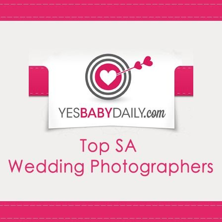 Pleased to be ranked as one of SA's top wedding photographers