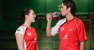 Iceni hydrate GB Badminton Team at London Olympics 2012