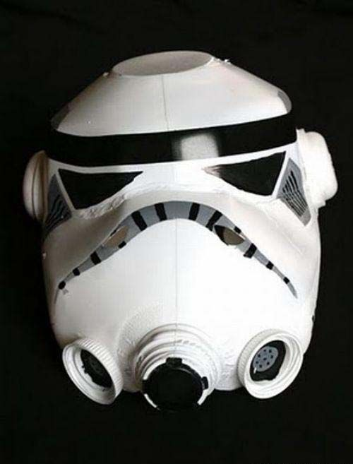 Milk jug storm trooper helmet and other cool halloween crafts
