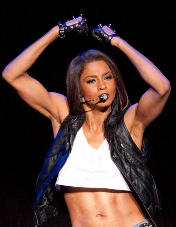 Body inspiration - Ciara. She has the sexiest arms and abs ...