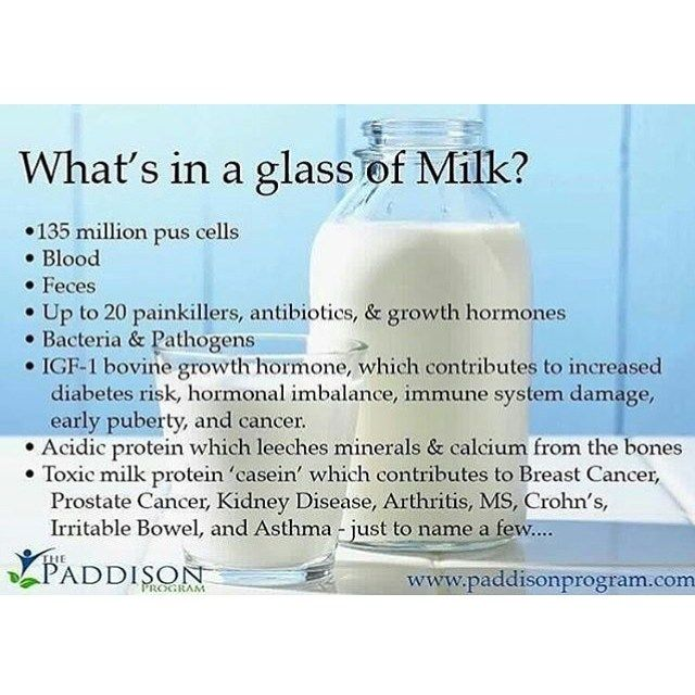 More reasons to ditch dairy! Growing up we are told that consuming milk makes you healthy and strong. We actually do not need milk and it can be more harmful to our health than most people know!