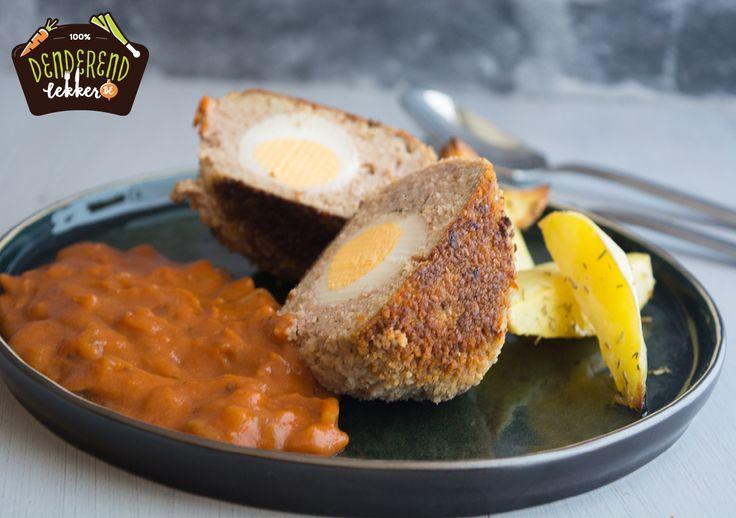 Het klassieke Vlaamse vogelnestje is een flinke gehaktbal met daarin een ei. In dit geval is de tomatensaus bereidt met madeira. Wegens het ei wordt dit gerecht een vogelnestje genoemd. Dit recept is makkelijk te bereiden en klaar in ongeveer 30 min. #denderendlekker; #watetenwevandaag, #maaltijdbox, #lekkervanbijons, #denderstreek