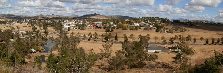 Boonah, #Queensland from lookout above town. #Australia #travel