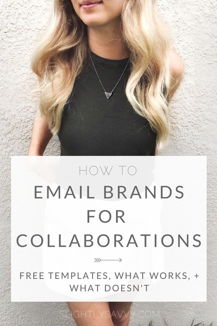 Reach out to brands for blog sponsorships and collaborations. Email pitch to brands, influencer marketing