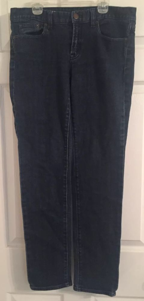 J. Crew Stretch Toothpick Women's Ankle Jeans Size 29 or 8 Skinny in Clothing, Shoes & Accessories, Women's Clothing, Jeans | eBay