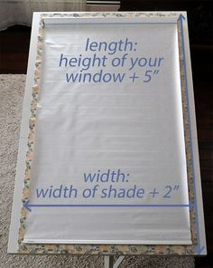 fabric-covered shades