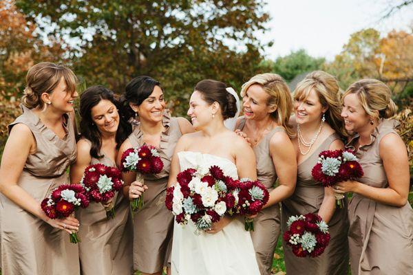 1000 Ideas About Beige Bridesmaid Dresses On Pinterest: 409 Best { BURGUNDY WEDDING } Images On Pinterest