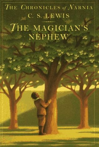 The Chronicles of Narnia: The Magician's Nephew by C.S. Lewis. First in the series. When Digory and Polly try to return the wicked witch Jadis to her own world, the magic gets mixed up and they all land in Narnia where they witness Aslan blessing the animals with human speech. Fantasy | Ages 9-12.