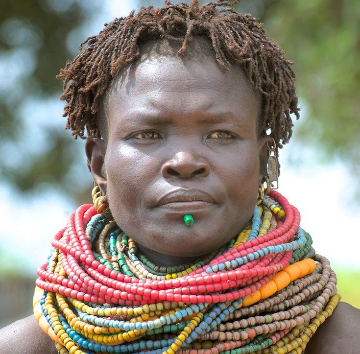 Africa | Nyangatom women.  Omo Valley, Ethiopia | ©Other Worlds Photography