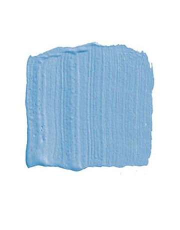 """BENJAMIN MOORE BLUE WAVE 2065-50: """"Blue is tricky. It can go gray and sad. But not this warm Mediterranean blue. It's the blue in all those Pucci prints, a bright, happy, not-a-cloud-in-the-sky blue, as if you're in vacation mode and having lobster and rosé at Tetou on the beach near Cannes. I love it in a bedroom, where you could crisp it up with a navy-and-white striped fabric and one of those great Elizabeth Eakins plaid rugs."""" -Elissa Cullman   - HouseBeautiful.com"""