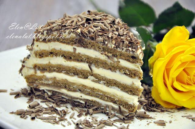 Шоколадно-сливочный торт с карамельным кремом. Обсуждение на LiveInternet - Российский Сервис Онлайн-Дневников