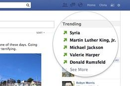 Facebook Is Testing A 'Trending' Feature In The News Feed
