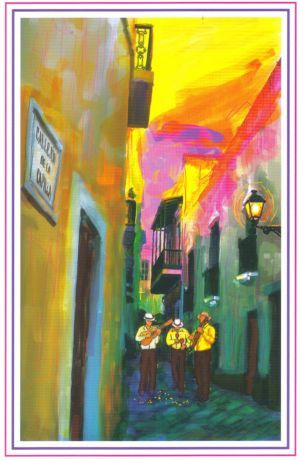 Puerto Rican Art Puerto Rico Christmas Cards Made In