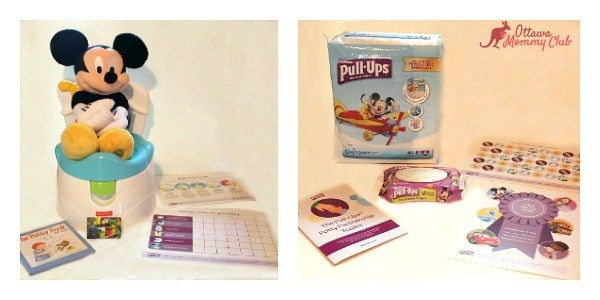 Ditch Diapers Easier with the Pull-Ups® Potty Partnership Toolkit! #PottyPartnership #Giveaway CAN 07/25 - Ottawa Mommy Club - Moms and Kids Online Magazine : Ottawa Mommy Club – Moms and Kids Online Magazine