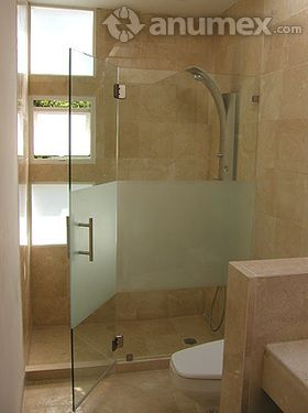 17 best images about puerta d cristal on pinterest for Soporte ducha sin taladro