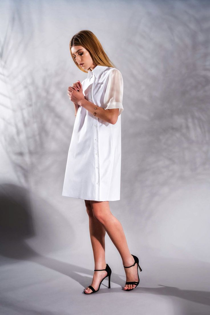 Cotton and Silk Dress         www.framboise.ro
