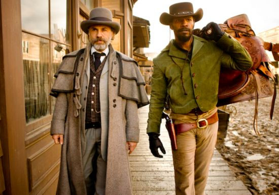 Django Unchained - Production Shots - Christoph Waltz and Jamie Foxx lookin' badass!