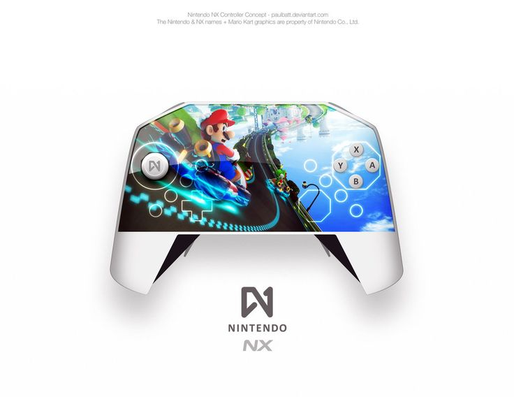 Nintendo NX Console Controller Concept - On by PaulBatt
