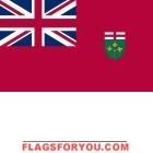 3' x 5' Ontario High Wind, US Made Flag