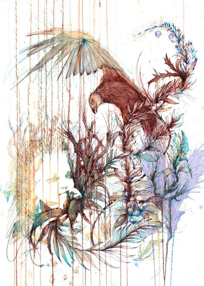 Carne Griffiths: Drawings with Tea and Brandy | shutterr