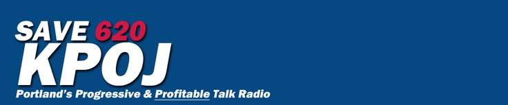 Bain's Clear Channel is shutting down the only Progressive Talk Radio in Portland, OR after the election. Plz sign petition to help keep truth on the airwaves for the people of Oregon. This is the only progressive radio here.