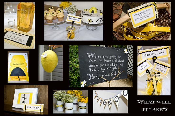 1000+ Images About What Will It Bee- Gender Reveal Party