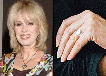 Joanna LumleyJoanna Lumley, 59: Little sun damage on her face, maybe due to peels. her hands have no visible age spots.