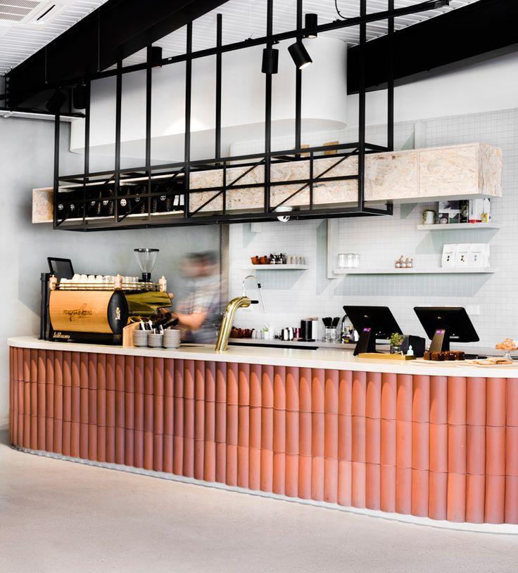techne architects poacher and hound cafe australia designboom