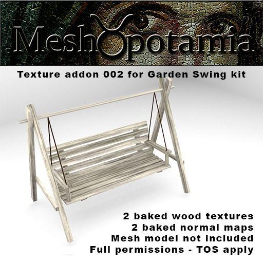 Meshopotamia Garden swing texture 002