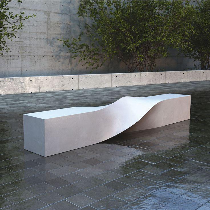 S Bench | LAB23 - Street Furniture