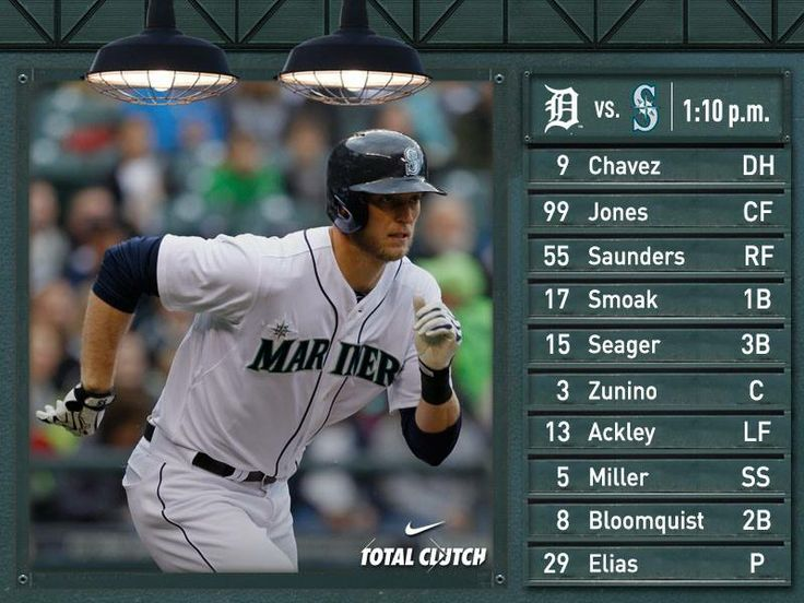 Saunders, Morse and Seager take center stage on Mariners commercial - baseball stats spreadsheet