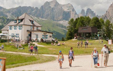 Vandring i fjellene - Dolomittene