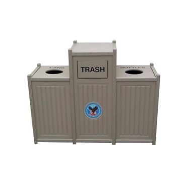 eco friendly office furniture. Recycled Plastic Recycling Center - Eco Friendly Furniture   National Business Office I