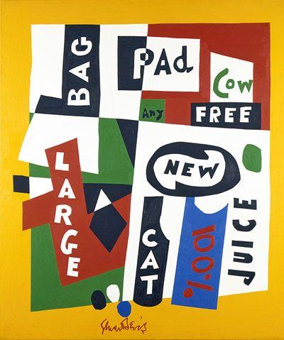 Stuart Davis. American Cubist Painter. 1894-1964