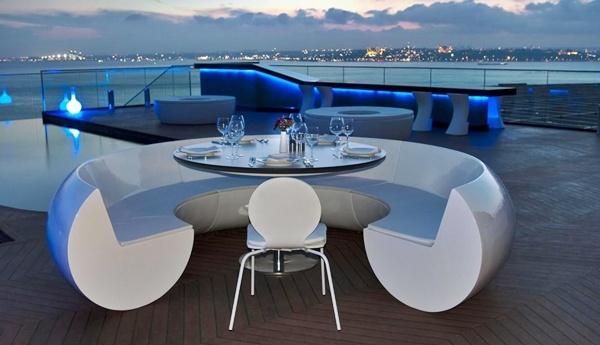 Un restaurante con vistas de 360 grados en Estambul