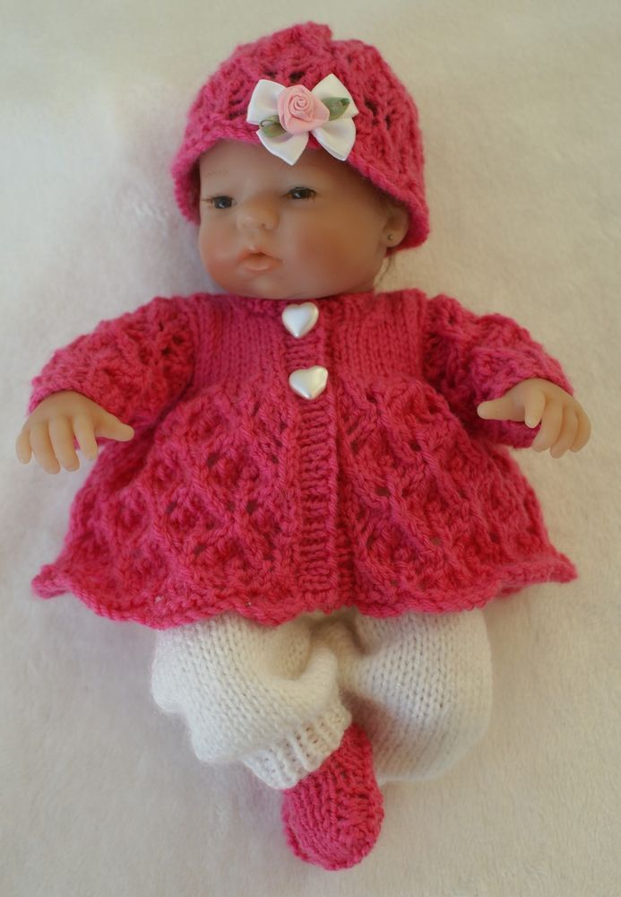 Hand Knitted Dolls Clothes To Fit 9/10 Emmy or Similar Doll